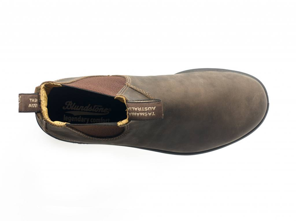 BLUNDSTONE Blundstone 585 - The Leather Lined in Rustic Brown