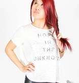 """cecico """"Hope In The Unknown"""" Graphic Print Oversized Tee"""