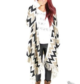 Very J Chevron Sweater