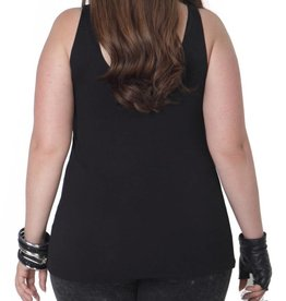 Full Figured Fashionista Plus Tank