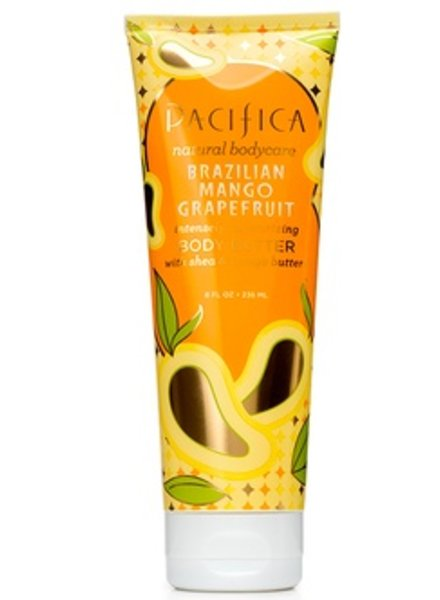 Pacifica BRAZILIAN MANGO GRAPEFRUIT BODY BUTTER TUBE 8 oz