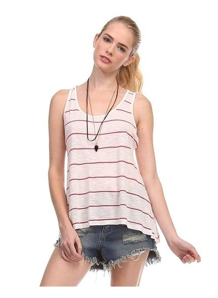 Striped Basic Tank Top