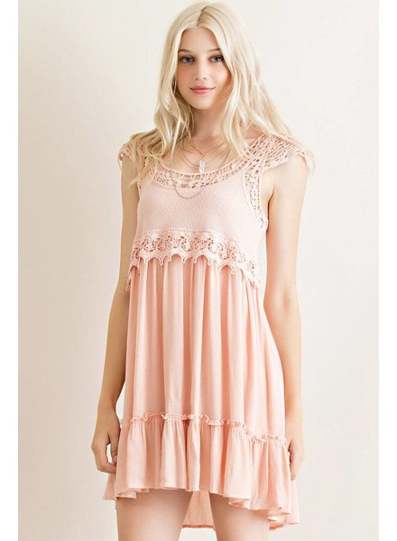 Blush Babydoll Dress