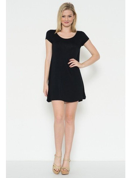 Crossback Mini Dress