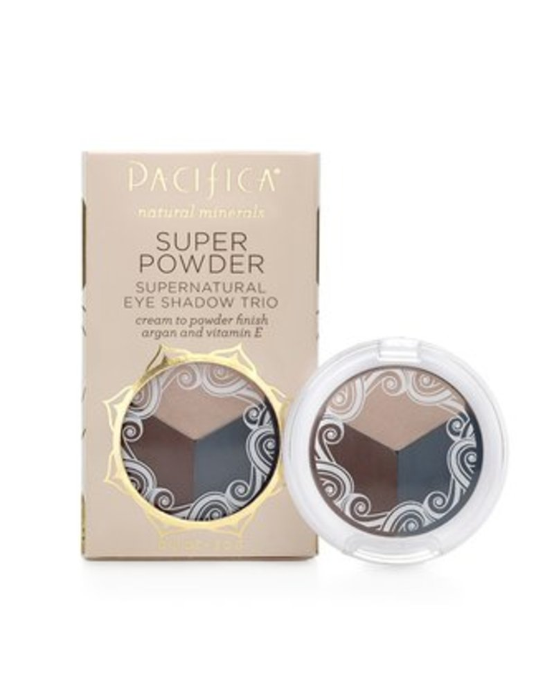 Pacifica Super Powder Supernatural Eye Shadow Trio .10 oz
