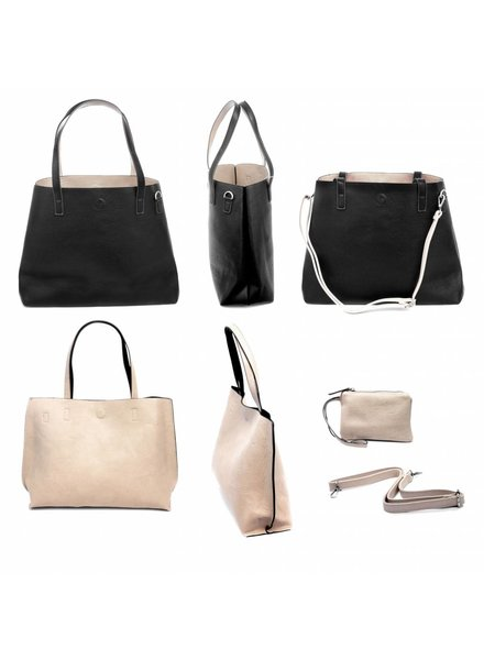 Black Reversible Tote