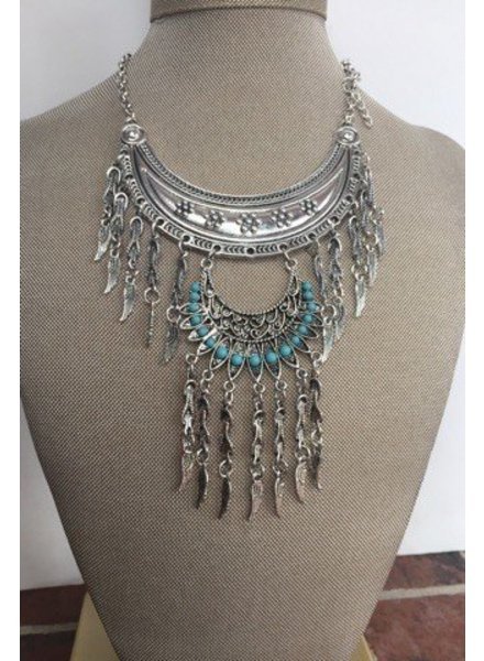 Blue Accessories Necklace BA554
