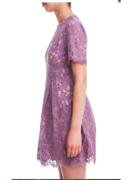 Lush Lace Flare Dress