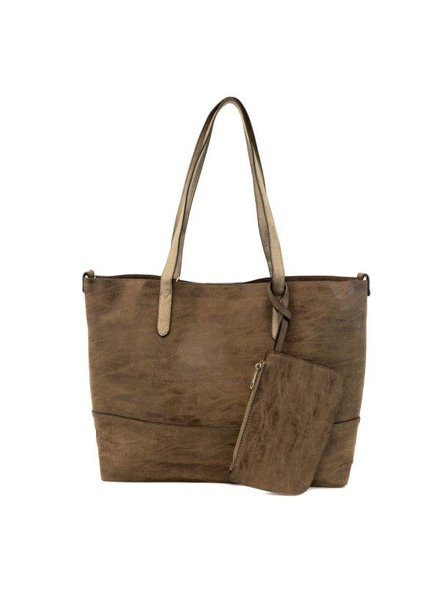 Joy Brushed Chocolate 2 in 1 Tote
