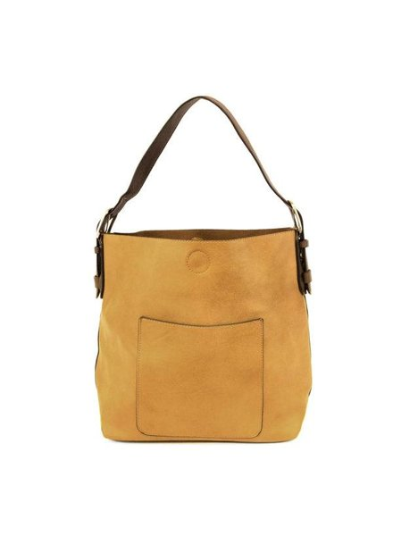 Joy Mustard Hobo Handbag