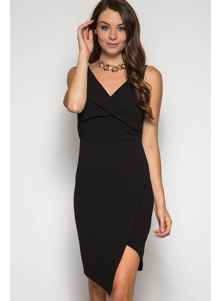 Sleeveless Twist Dress