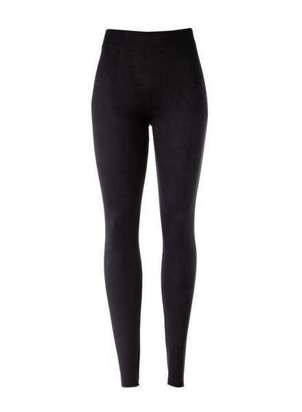 Suede Legging in Black