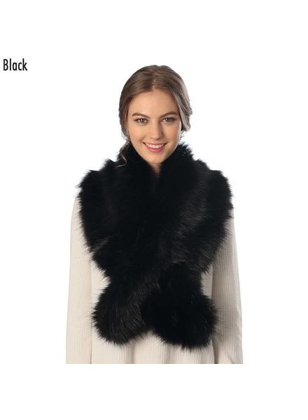 Thick Faux Fur Scarf Various Colors