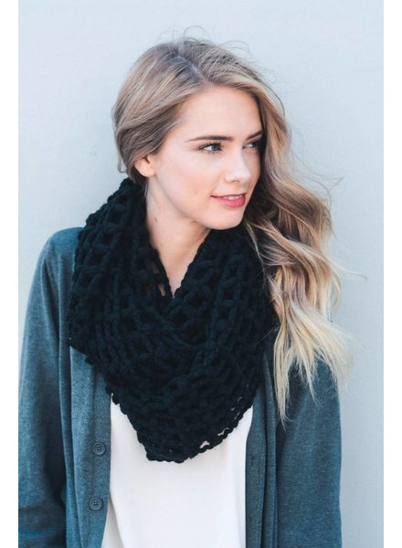 Net Infinity Scarf in Various Colors