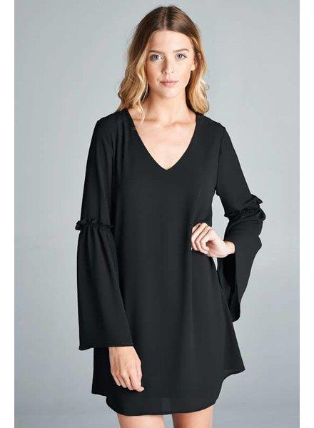 Smock Dress in Black