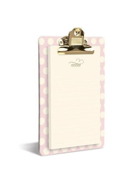 Graphique Blush Dot Clipboard