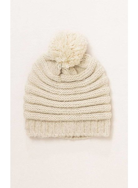 Stripe Knit Hat in Various Colors