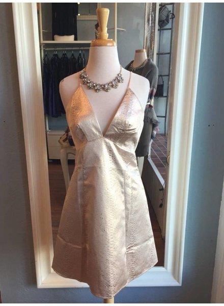 Strappy Shimmer Dress