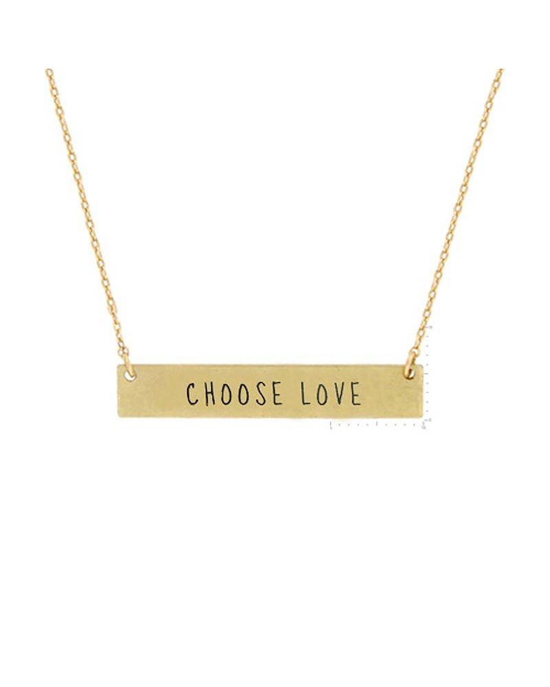 USJH Simple Charm Necklace