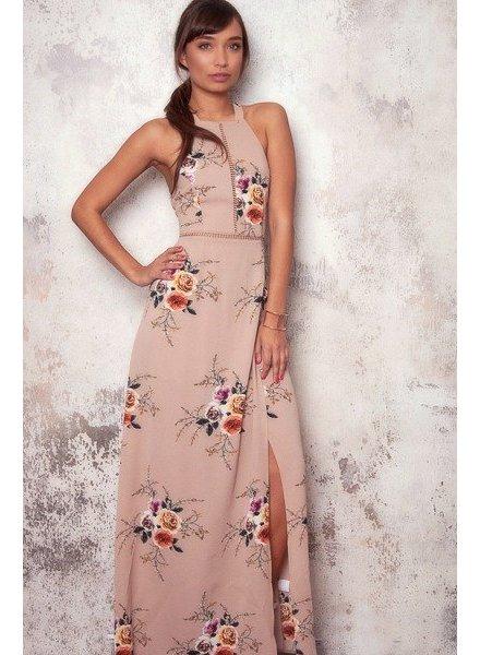 Floral Halter Maxi
