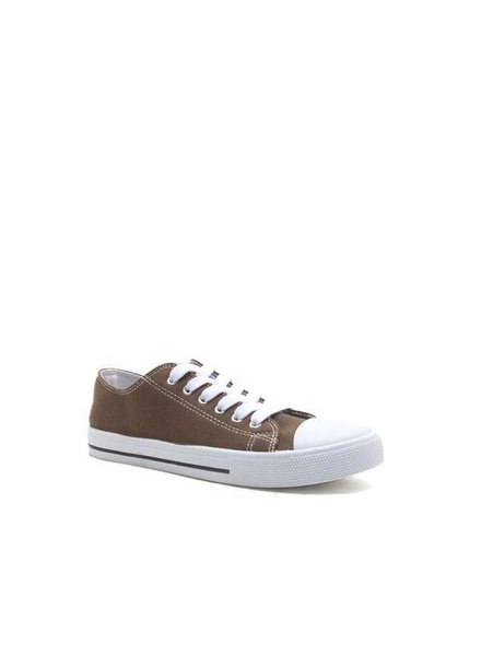 Lace Up Canvas Sneaker
