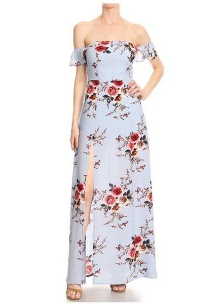 LA Floral Maxi