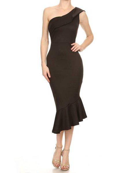 LA Single Shoulder Dress