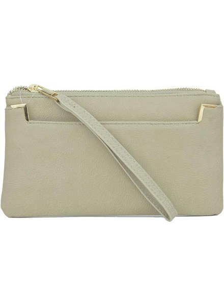 Proya Fashion Wristlet with Outside Pocket