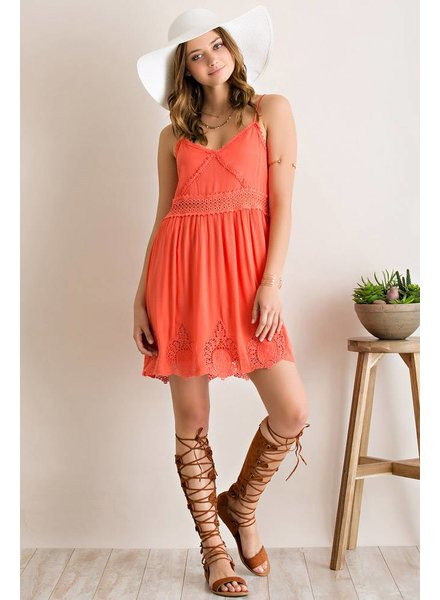 Sleeveless Baby Doll Dress