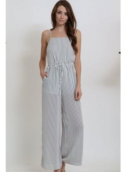 1 Funky Striped Jumpsuit