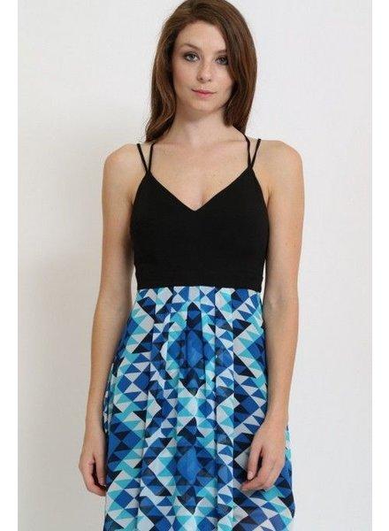 1 Funky Strappy Maxi Dress