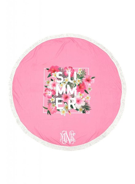 Wholesale Accessory Market Round Beach Towel