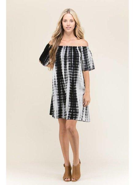 Heart & Hips Tie Dye Shift Dress