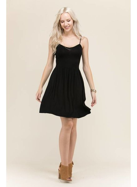 Heart & Hips Solid Cami Dress