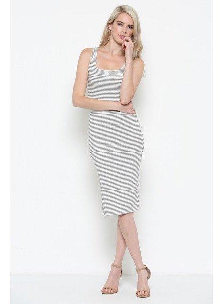 Heart & Hips Stripe Tank Dress