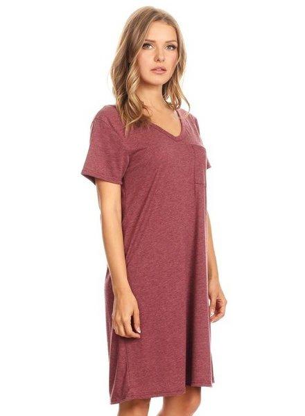 Pocket TShirt Dress