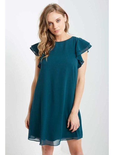 Chiffon Shift Dress
