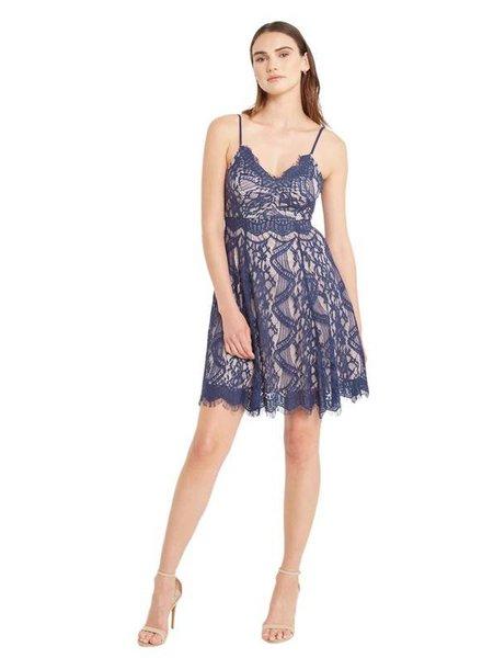 Delicate Lace Mini Dress