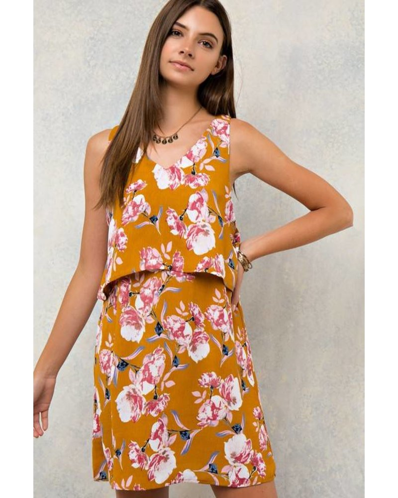 Printed Layer Dress