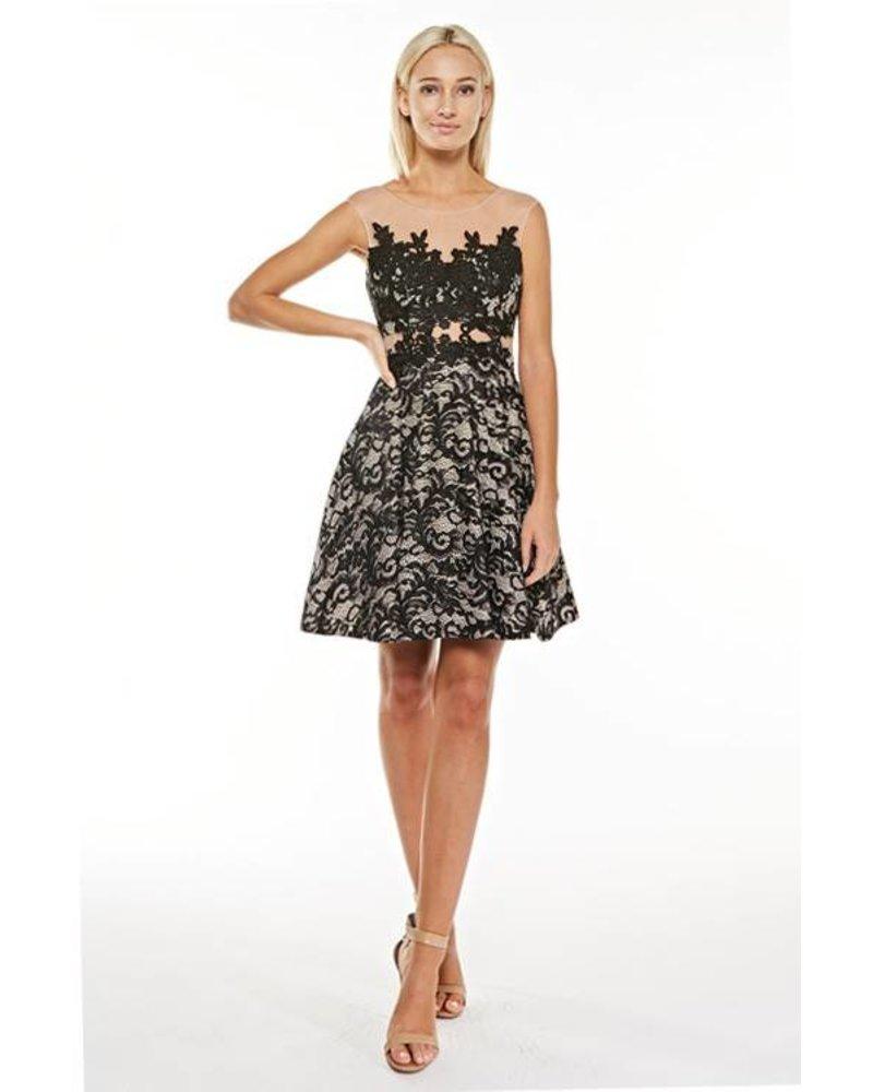 Lace Woven Dress