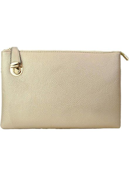 Julie Buckle Crossbody Clutch