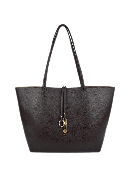 Reversible Tote in Coffee Light Coffee