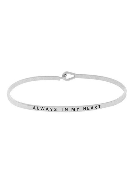 Inspirational Saying Bracelet