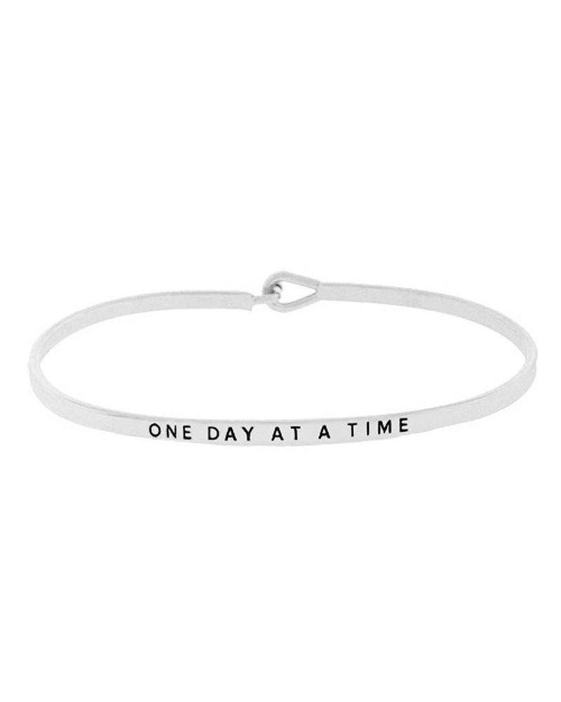 Inspirational Saying Bracelet