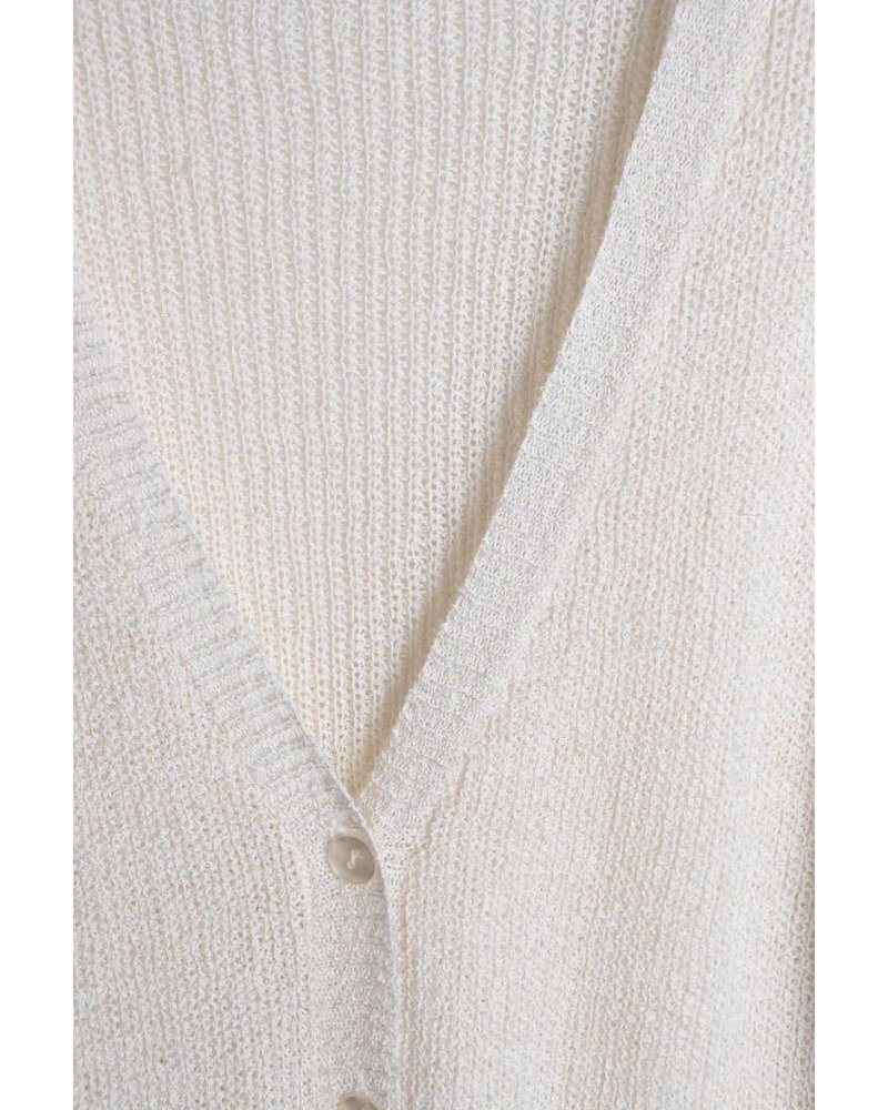 Button Tunic Cardigan