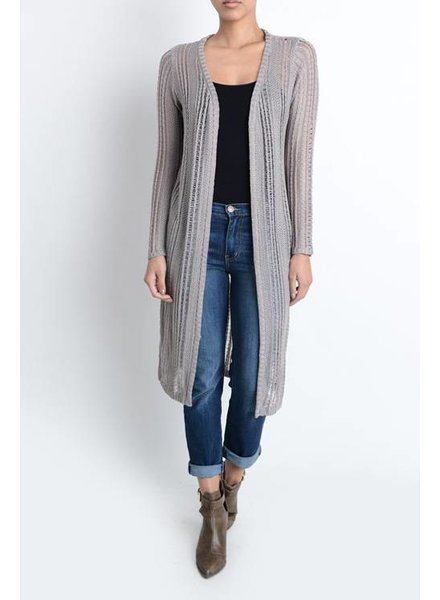 Light Weight Long Cardigan