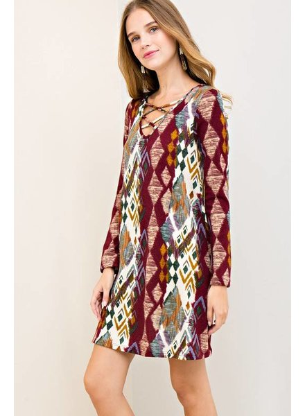 Tribal Shift Dress