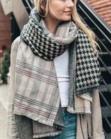Patchwork Blanket Scarf