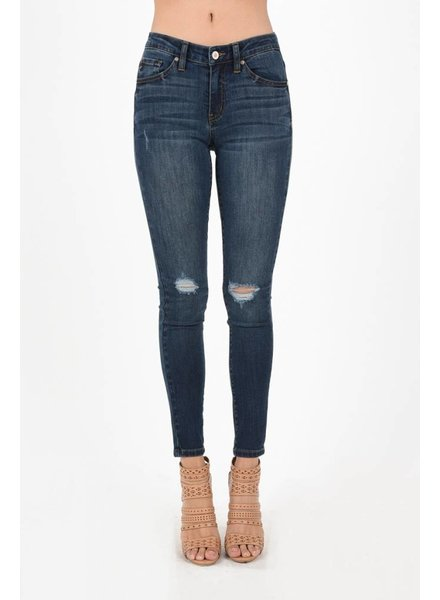 Ripped Ankle Jean