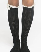 Ruffle Detailed Sock
